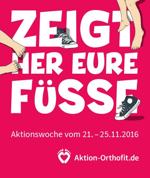 Aktion Orthofit - Zeigt her Eure Füsse 2016