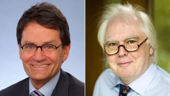 Dr. Uwe Schwokowski und Prof. Dr. Wolfgang Rüther, Referat Rheumatologie des BVOU