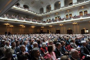 Eröffnungsveranstaltung des 119. Deutschen Ärztetages in der Laeiszhalle in Hamburg